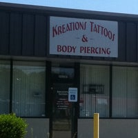Photo taken at Kreations Tattoos & Body Piercing by Chance L. on 8/30/2011