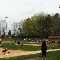 Photo taken at Christy Mathewson Baseball Field by Bruce R. on 5/9/2011