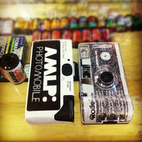 Photo taken at Lomography Gallery Store Gramercy by Anna S. on 11/8/2011