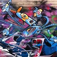 Photo taken at Graffiti Art by Eduardo S. on 4/19/2012