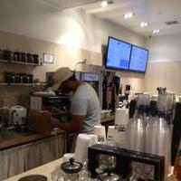 Photo taken at Blu Cafe by moshe b. on 4/20/2012