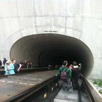 Photo taken at Dupont Circle Metro Station by Paulie D M. on 3/25/2012
