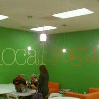 Photo taken at Local Yogurt by Leon H. on 12/1/2011