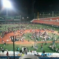 Photo taken at Mokdong Baseball Stadium by sok on 10/7/2011