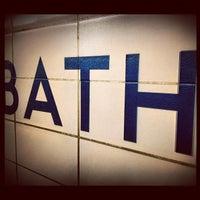 Photo taken at Bathurst Subway Station by Jason P. on 4/1/2012
