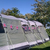 Photo taken at Dunstan Hill Camping and Caravanning Club SIte by Hazel H. on 6/3/2012