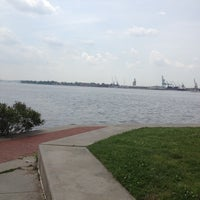Photo taken at Canton Waterfront Park by Maci B. on 5/16/2012