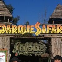 Photo taken at Parque Safari by Cristian P. on 7/15/2012
