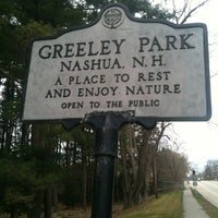 Photo taken at Greeley Park by Jenny W. on 4/9/2012