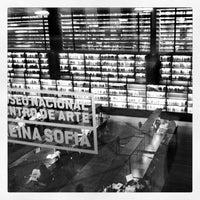 Photo taken at Biblioteca Museo Reina Sofía - Edificio Nouvel by juan m. on 4/27/2012