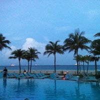 Photo taken at Pool @ Sheraton Ft. Lauderdale by Matt L. on 4/1/2012