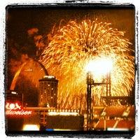 Photo taken at Hilton St. Louis at the Ballpark by Tina E. on 7/5/2012