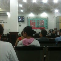 Photo taken at Vietcombank Phu Tho by Thu Hang L. on 7/9/2012