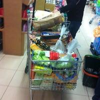 Photo taken at Mercadona Arucas by Elena A. on 3/8/2012