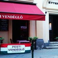 Photo taken at Trattoria Étterem/Restaurant by Anton K. on 8/9/2012