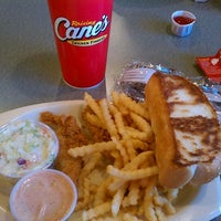 Photo taken at Raising Cane's by Jill C. on 2/3/2012