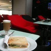 Photo taken at On Time Lounge & Cafe Bar by Sebastian C. on 4/9/2012