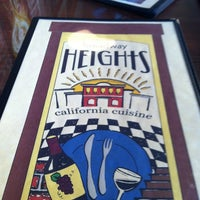 Photo taken at Broadway Heights California Cuisine by Bill B. on 12/21/2011