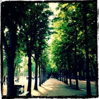 Photo taken at Gardens of the Champs-Élysées by Shawn M. on 5/31/2012