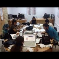 Photo taken at معهد صحافة الحرب والسلم by Sofiane C. on 8/27/2012