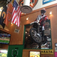 Photo taken at Quaker Steak & Lube® by Michelle L. on 4/14/2012