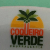 Photo taken at Churrascaria Coqueiro Verde by Marilia M. on 7/25/2012
