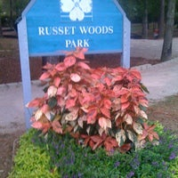 Photo taken at Russet Woods Park by Amanda J. on 10/12/2011