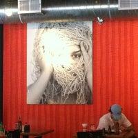 Photo taken at Lulu's Noodles by Amanda V. on 6/4/2012