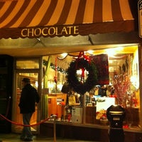 Photo taken at L.A. Burdick Chocolate by Rebecca on 12/4/2011