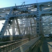 Photo taken at Huey P. Long Bridge by Chuck L. on 10/20/2011