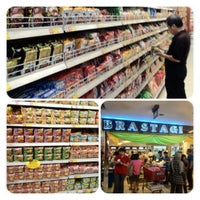 Photo taken at Brastagi Supermarket by Jessica Lo on 9/13/2012