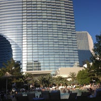 Photo taken at ARIA Pool & Cabanas by Andy S. on 6/17/2012