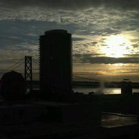 Photo taken at Bay Bridge Toll Plaza by Dre on 4/10/2012