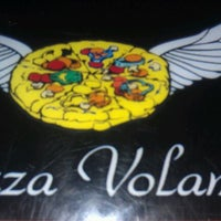 Photo taken at Pizza Volante by camille b. on 10/17/2011