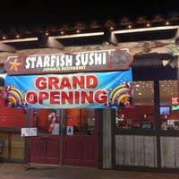 Photo taken at Starfish Sushi by Jeffrey S. on 12/14/2011