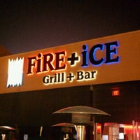 Photo taken at FiRE + iCE Grill + Bar by Andrew M. on 9/1/2011