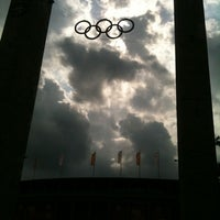 Photo taken at Olympiastadion by tomas i. on 8/12/2011