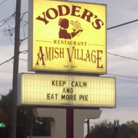 Photo taken at Yoder's Restaurant by Margaret L. on 1/18/2012