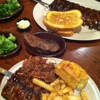 Photo taken at Sonny's BBQ by Leah S. on 7/1/2011