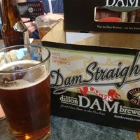 Photo taken at Dillon Dam Brewery by Jared P. on 7/25/2012