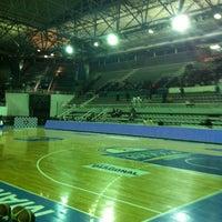 Photo taken at Estadio Polideportivo Islas Malvinas by Infoliga W. on 5/7/2011