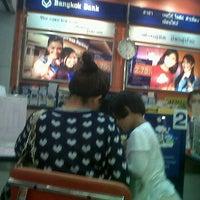 Photo taken at Bangkok Bank by Nookger p. on 1/28/2012