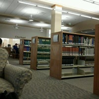 Photo taken at David L. Rice Library by Ryan W. on 9/30/2011