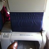 Photo taken at KLM Flight KL 643 by Robertjan G. on 8/3/2011