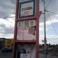 Das Foto wurde bei Pekná cesta (tram, bus) von Marek R. am 9/12/2011 aufgenommen