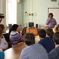 Photo taken at Институт математики и информатики (ИМИ МГПУ) by Ilya C. on 11/22/2011