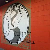 Photo taken at Bennu Coffee by Melissa M. on 3/11/2012