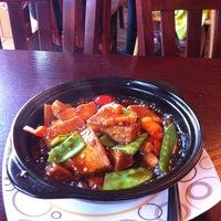 Photo taken at Garden Fresh Vegan Cuisine by Jeanine K. on 7/29/2011