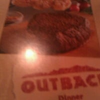 Photo taken at Outback Steakhouse by DeMarkco B. on 2/13/2011