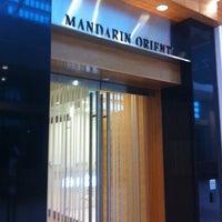 Photo taken at Mandarin Oriental, Boston by Nick D. on 5/19/2012